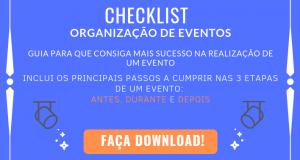 checklist organização de eventos